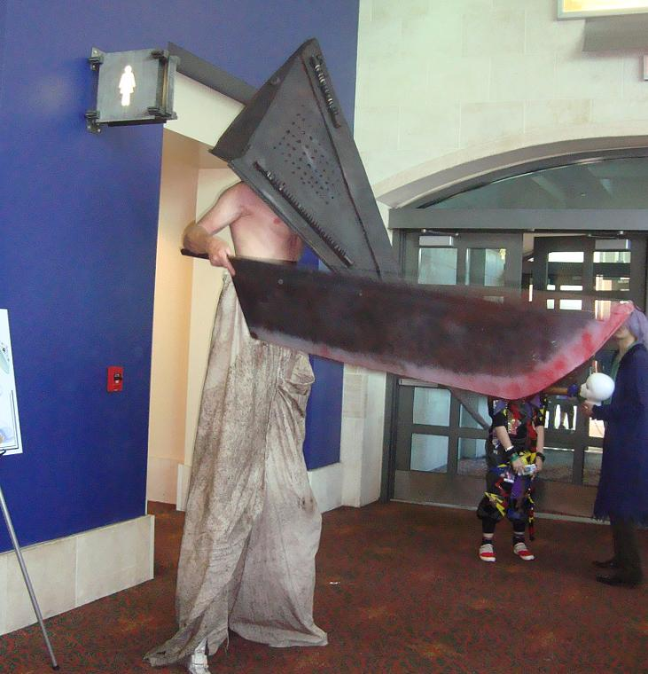 Pyramid Head at San Japan