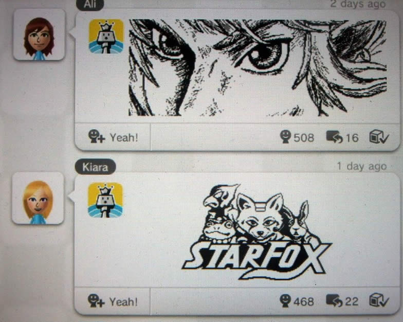 Miiverse is a free online communication with other Wii U and 3DS owners.